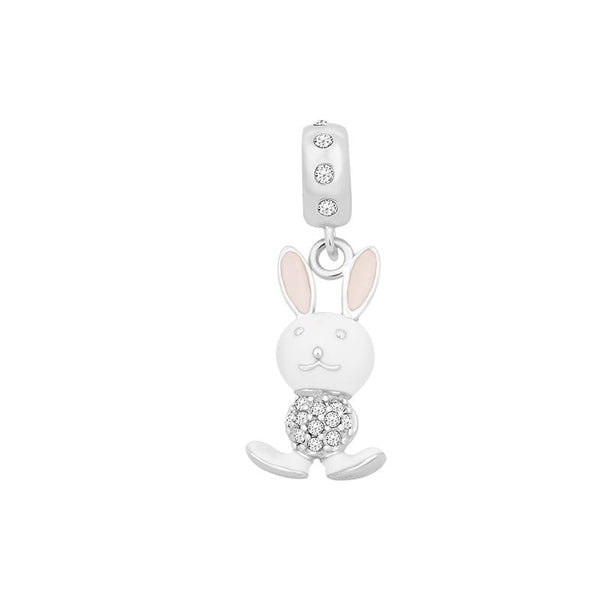 White Rabbit Charm Bead - JEOEL