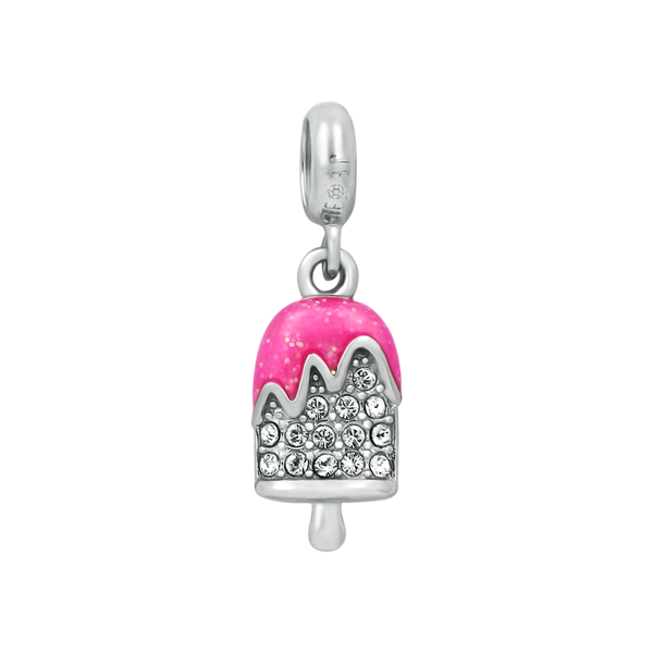 Sparkling Pink Popsicle Bead - JEOEL
