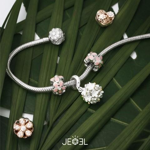Daisy Purity Charm Bead - JEOEL