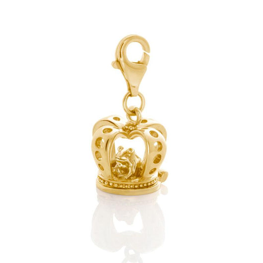 Frog-In-A-Crown Charm - JEOEL