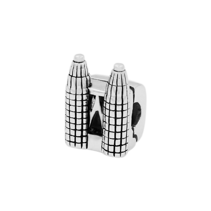 Twin Towers Clip Bead - JEOEL