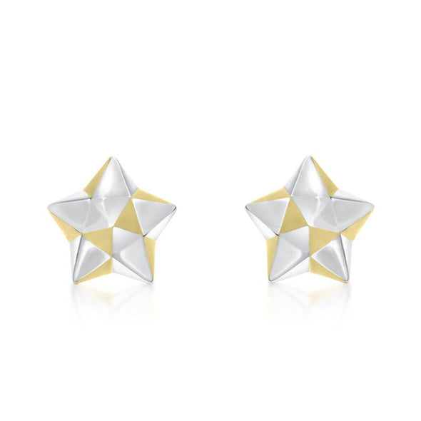 Origami Lucky Star Earrings - JEOEL