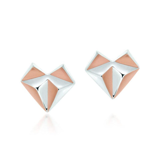 Origami Love Earrings - JEOEL