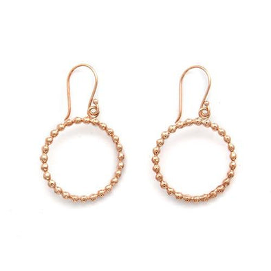 Beaded Hoop Earrings - JEOEL