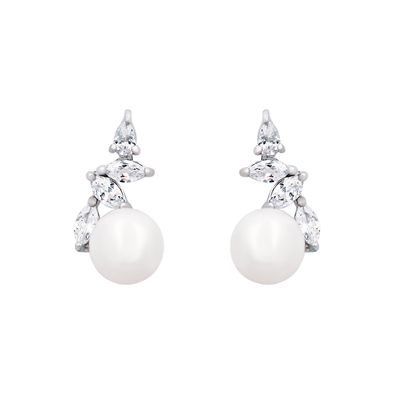 Pearl Edge Earrings