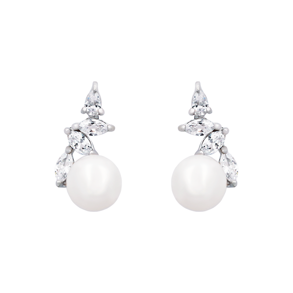 Pearl Edge Earrings - JEOEL