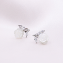 Rose Shell Earrings