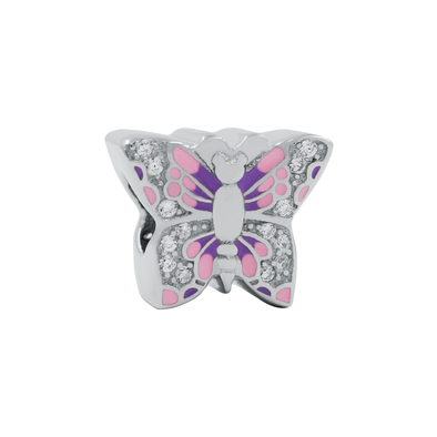 Purple Butterfly Bead - JEOEL