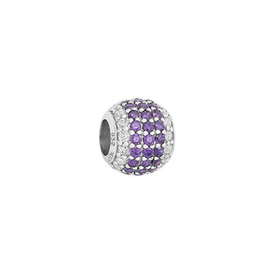 Two Tone Pave Bead - JEOEL