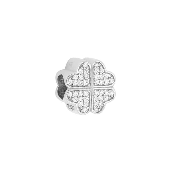 Pave Clover Bead - JEOEL