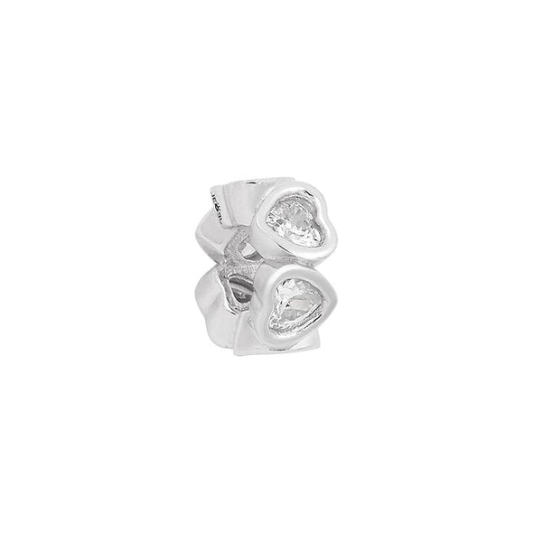 Heart Spacer Bead - JEOEL