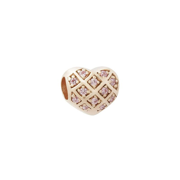 Weaved Heart Bead - JEOEL
