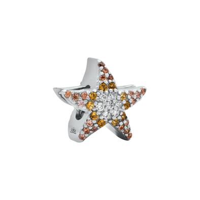 Yellow Starfish Bead