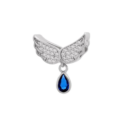 Angel Teardrop Charm