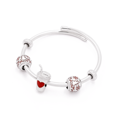 Coffee in Christmasland Bangle Set - JEOEL