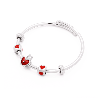Lovely Bear Bangle Set - JEOEL