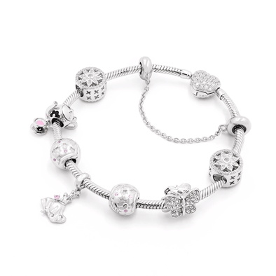 Diamond Cinderella Fairytale Bracelet Set