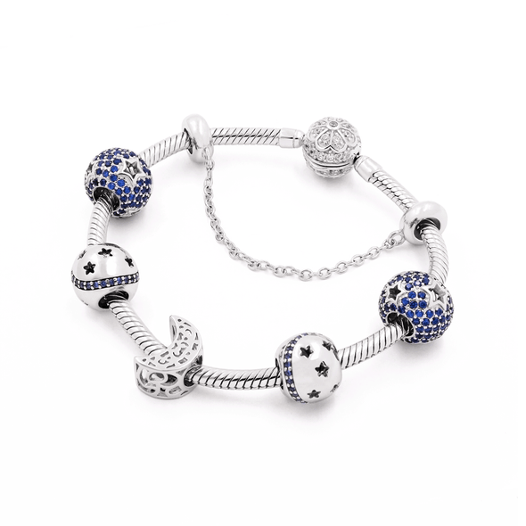Blue Moon Bracelet Set - JEOEL