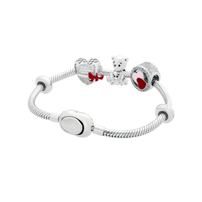 Mummy Bear Bracelet Set