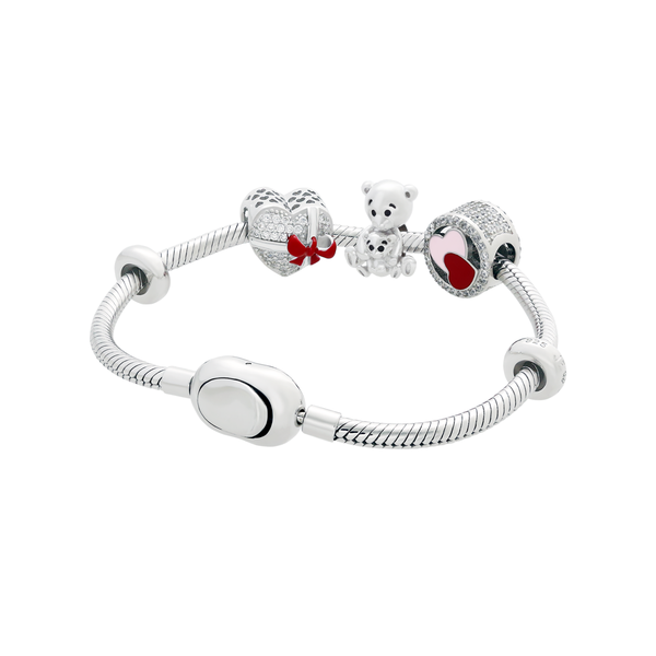 Mummy Bear Bracelet Set - JEOEL