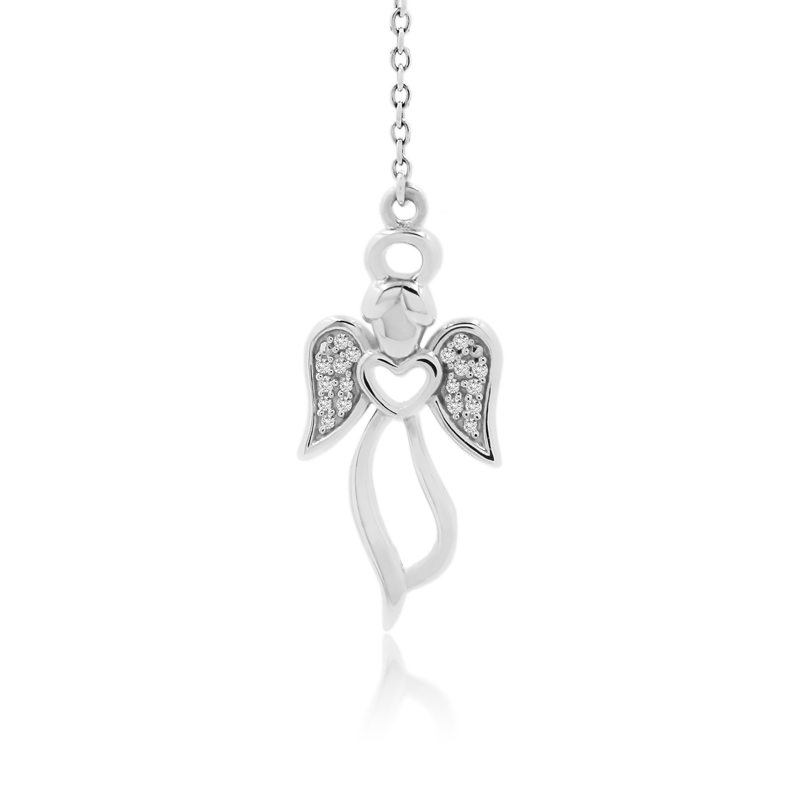 Baby Angel Necklace (Pendant+Chain) - JEOEL