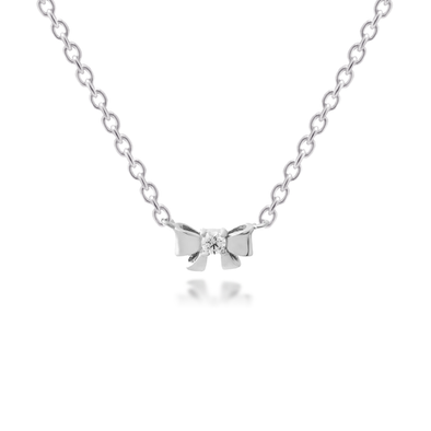 Mini Bow Necklace - JEOEL