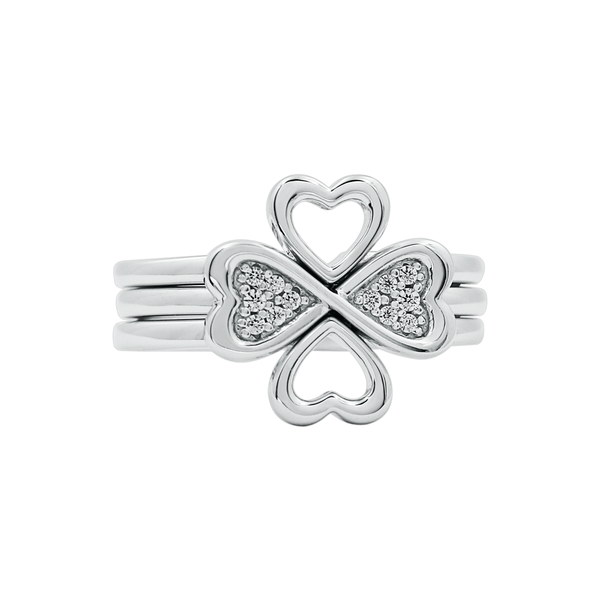Clover Heart Ring - JEOEL