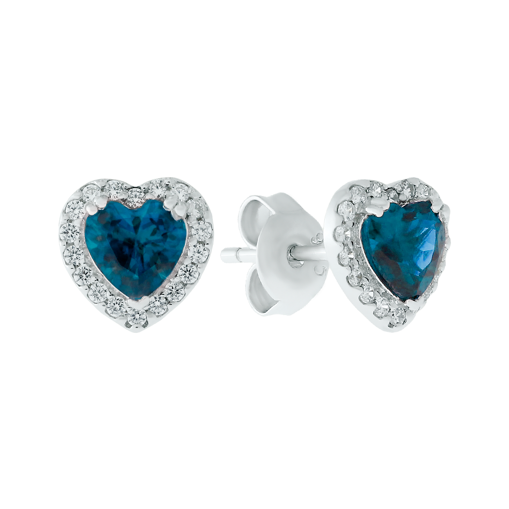 Topaz Love Earrings - JEOEL