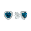 Topaz Love Earrings