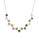 Rainbow Tourmaline Necklace - JEOEL
