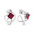 Garnet Universe Earrings
