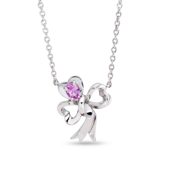Pink Sapphire Luck Necklace