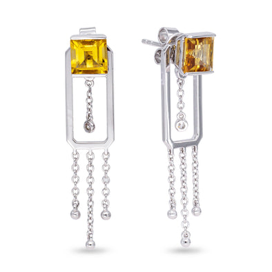 Citrine Universe Earrings