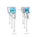Topaz Universe Earrings - JEOEL