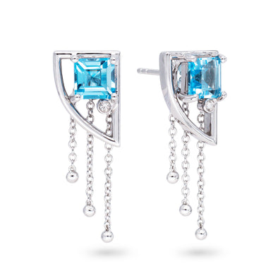 Topaz Universe Earrings