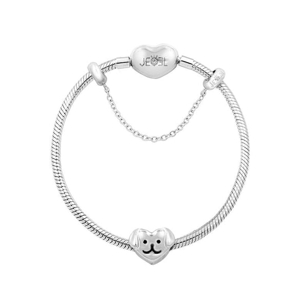 Heart Puppy Lover Bracelet Set - JEOEL