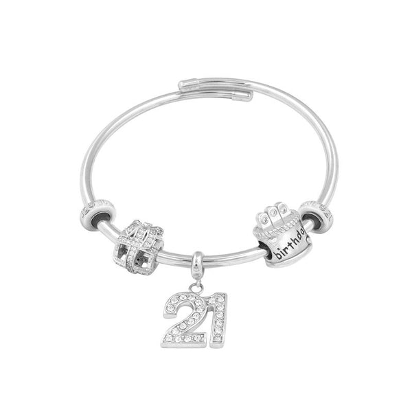 Welcome to Adulthood Bangle Set - JEOEL