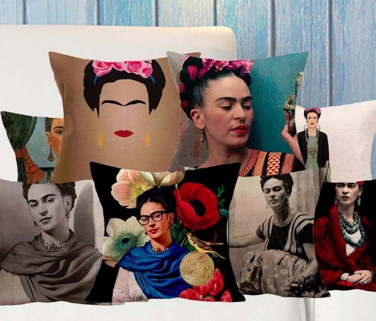 Frida Kahlo Self pillow covers collection VL. 2