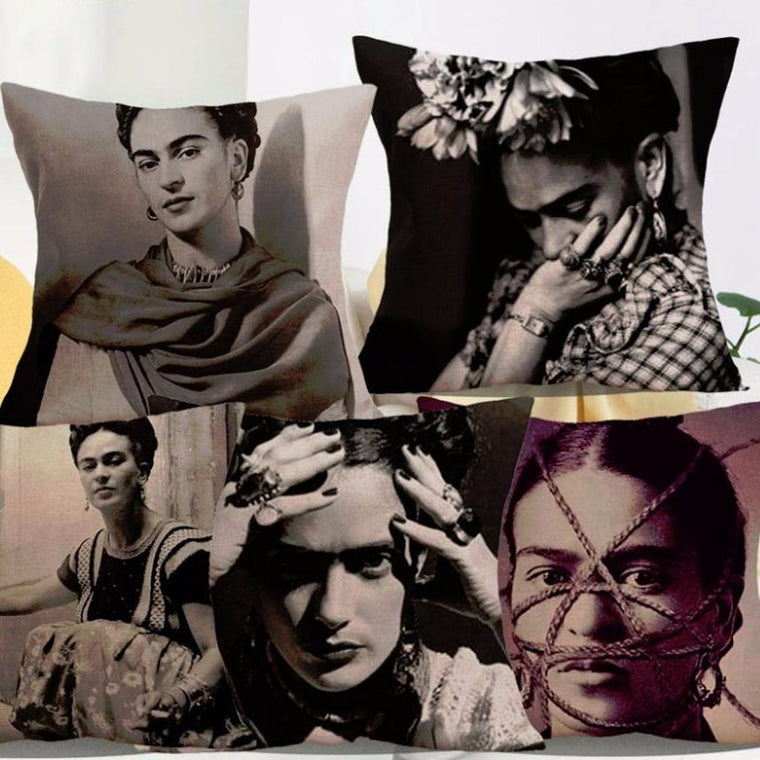 Frida Kahlo portrait pillow covers collection - VL. 1