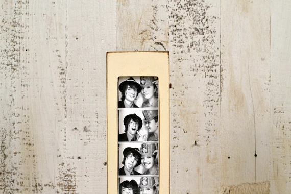 Photo Booth Ivory Wood Frame