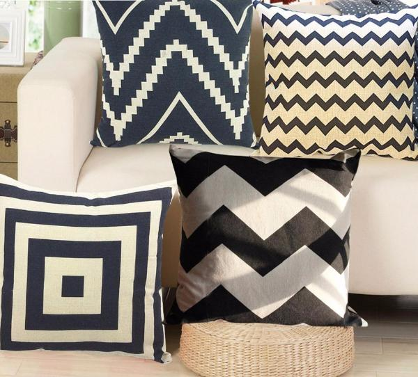 Black & White Nordic Pillow covers collection