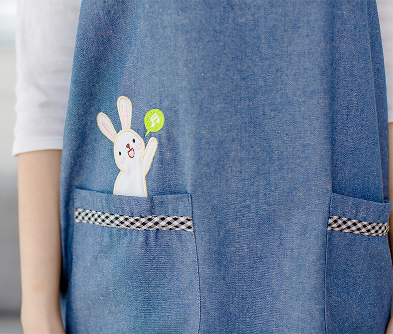 Super Cute Denim Apron