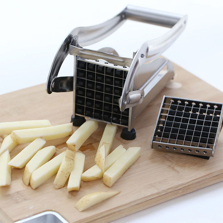 Fast and Fancy French-Fry Cutter