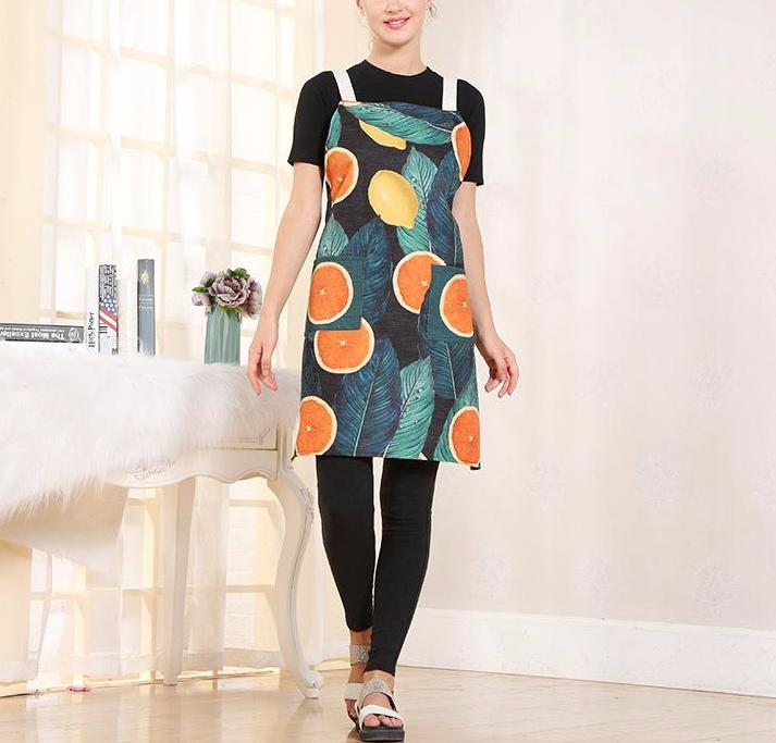 Grapefruits and Lemons Apron
