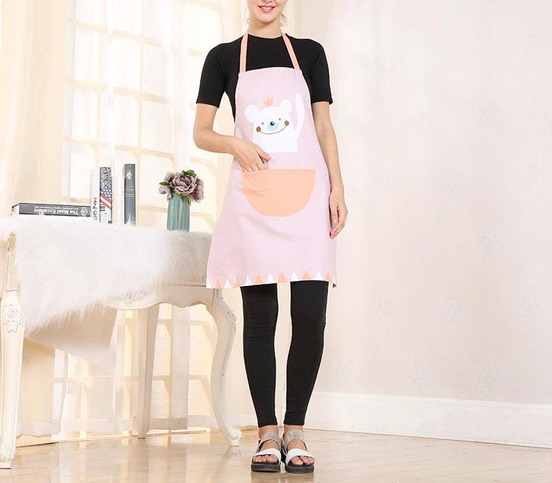Waving Bear Apron