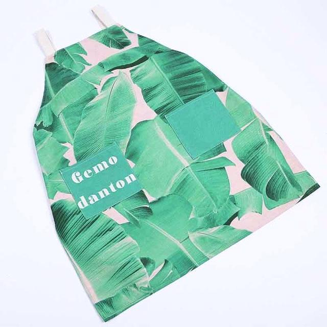 Banana Leaf Apron