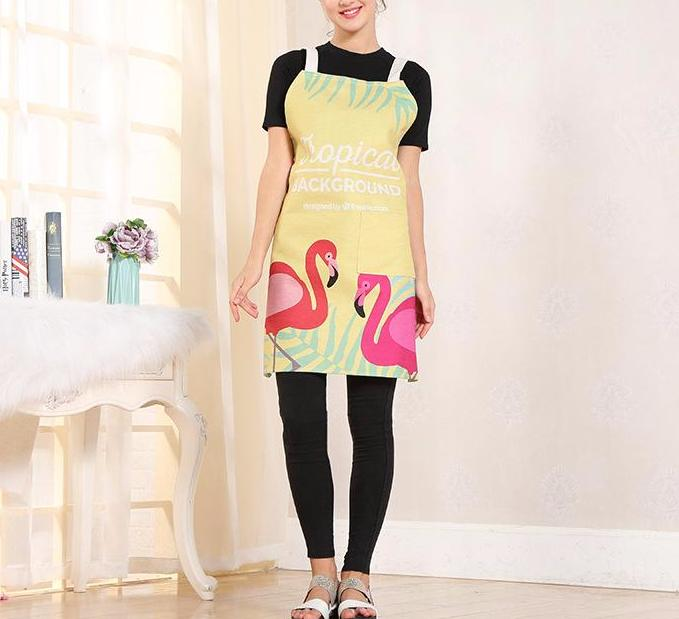 Cooking with the Flamingos Apron