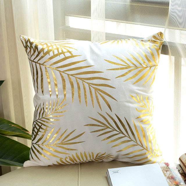 """I Love Gold"" Pillow Cover Collection"