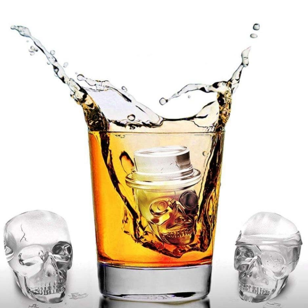 Ice Skulls to Chill Your Drink
