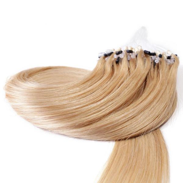 20 Colours Micro Loop Bead Indian Remy 100 Human Hair Extension